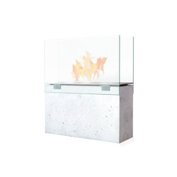 Muro Ethanol Fireplace | Caminetti aperti | conmoto