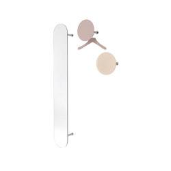 SLOT Wall-mounted Wardrobe with Mirror | Mirrors | Schönbuch