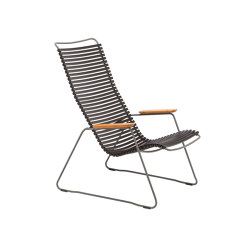 CLICK   Lounge chair Black   Poltrone   HOUE