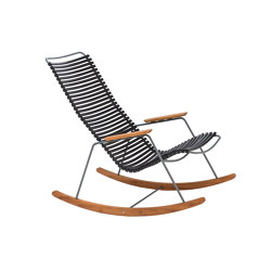CLICK | Rocking chair Black | Sillones | HOUE