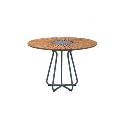 CIRCLE | Dining Table Ø110 Bamboo | Dining tables | HOUE