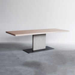 Opium rectangular table | Dining tables | Van Rossum