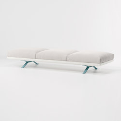 Boma bench 3-seater | Benches | KETTAL