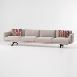 Boma 4-seater sofa | Sofás | KETTAL