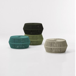 Objects zigzag pouf | Hocker | KETTAL