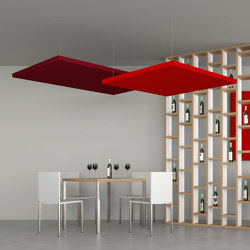 Silente Hanging | Ceiling panels | Caruso Acoustic by Lamm