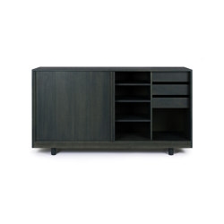 Sideboard with Sliding Doors Forest Green | Credenze | Bautier