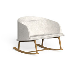 Cleo Teak | Rocking Chair | Armchairs | Talenti