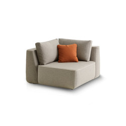 Plump Corner module | Modular seating elements | Expormim