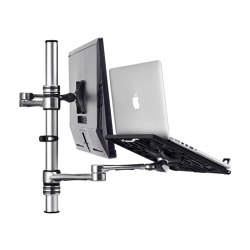 Set & Forget | Notebook Monitor Arm Combo Mount AF-AT-NBC | Accessoires de table | Atdec