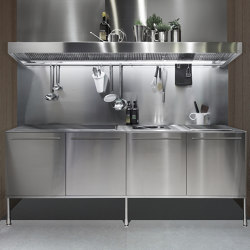 Artusi professional work unit | Fitted kitchens | Arclinea