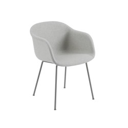 Fiber Armchair | Tube Base | Textile | Chairs | Muuto