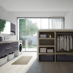 Spazio Time 5 | Wall cabinets | Ideagroup