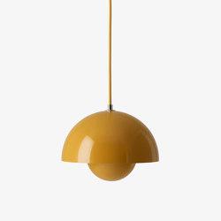 Flowerpot VP1 Mustard | Suspended lights | &TRADITION
