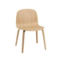 Visu Wide Chair   Wood Base   Sillas   Muuto