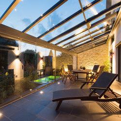 Glass canopy SDL Akzent plus | Winter gardens | Solarlux