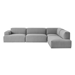 Connect Sofa | 3-seater corner | Divani | Muuto