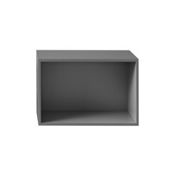Stacked Shelf System | Large With Backboard | Estantería | Muuto