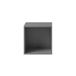Stacked Shelf System | Medium With Backboard | Estantería | Muuto