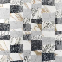 Opus | Piano patchwork | Lastre pietra naturale | Lithos Design