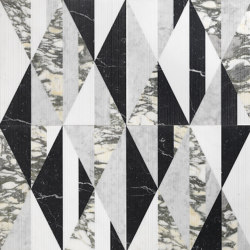 Opus | Tangram chaplin | Lastre pietra naturale | Lithos Design