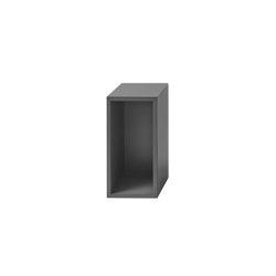 Stacked Shelf System | Small With Backboard | Estantería | Muuto