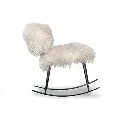 NEPAL Rocking armchair | Armchairs | Baxter