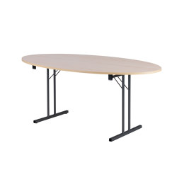 RBM Standard Folding Table Elipse | Mesas contract | Flokk