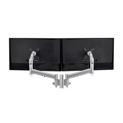 Modular | 2 x 618mm Dynamic Arms on 135mm Post AWMS-2-D13 | Accessoires de table | Atdec
