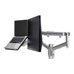Modular | 2 x Dynamic Monitor/Notebook Arms on 135mm Post AWMS-2-ND13 | Accessoires de table | Atdec