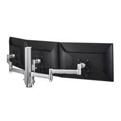 Modular | Triple Monitor Mount on 400mm Post AWMS-3-13714 | Accessoires de table | Atdec
