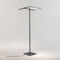 XT-S TWO CENTER FLOOR CHARCOAL | Free-standing lights | Tobias Grau