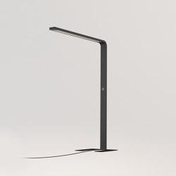 XT-A LONG SATIN/BLACK | Free-standing lights | Tobias Grau
