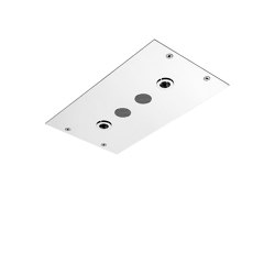 Modular F2820 | Ceiling mounted stainless steel showerhead with cromotherapy and audio | Shower controls | Fima Carlo Frattini