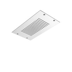 Modular F2825 | Ceiling mounted stainless steel showerhead with rain flow and  cromotherapy | Shower controls | Fima Carlo Frattini
