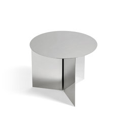 Slit Table Round | Tavolini alti | HAY