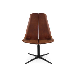 W-Lounge Chair 2 Leather | Armchairs | Wagner