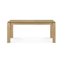 Slice | Oak dining table - legs 10 x 10 cm | Tavoli pranzo | Ethnicraft