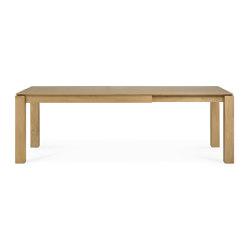 Slice | Oak extendable dining table - legs 10 x 10 cm | Tavoli pranzo | Ethnicraft