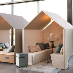 The Hut Sofa | Cabine ufficio | Götessons