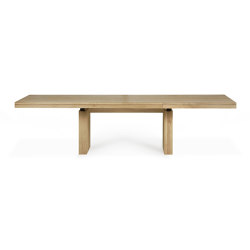 Double | Oak extendable dining table | Dining tables | Ethnicraft