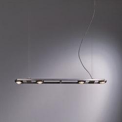 Ocular 4 LED | Lámparas de suspensión | Licht im Raum