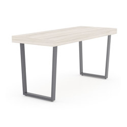 Parma angled metal café table | Tables collectivités | ERG International