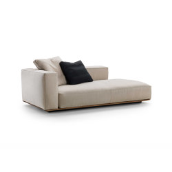 Grandemare Dormeuse | Modular seating elements | Flexform