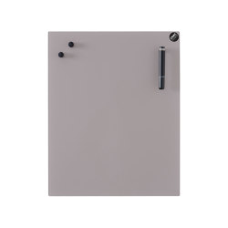 CHAT BOARD® Classic - Metal Taupe | Flip charts / Writing boards | CHAT BOARD®
