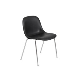 Fiber Side Chair | A-Base | Leather | Chairs | Muuto