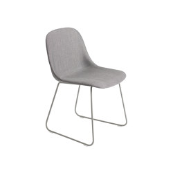 Fiber Side Chair | Sled Base | Textile | Chairs | Muuto