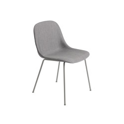 Fiber Side Chair | Tube Base | Textile | Stühle | Muuto