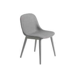 Fiber Side Chair | Wood Base | Textile | Chairs | Muuto