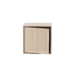 Stacked Shelf System | Medium With Door | Estantería | Muuto